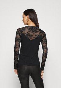 Morgan - TERRIE - Long sleeved top - noir - 2