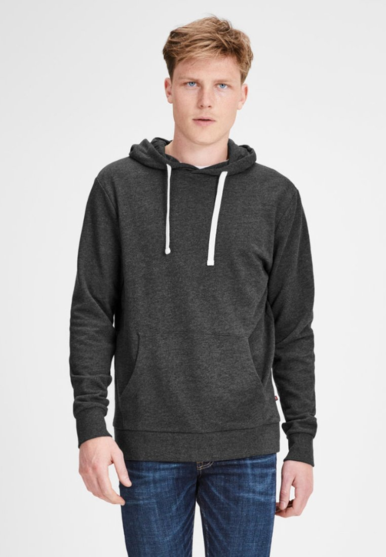 Jack & Jones - Hoodie - dark grey melange