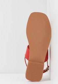 Vero Moda - VMSILLO  - Sandals - aurora red - 6