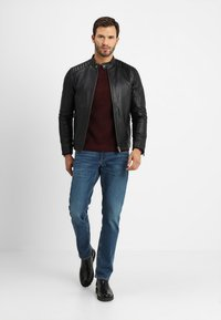 Selected Homme - RACER - Skinnjacka - black - 1