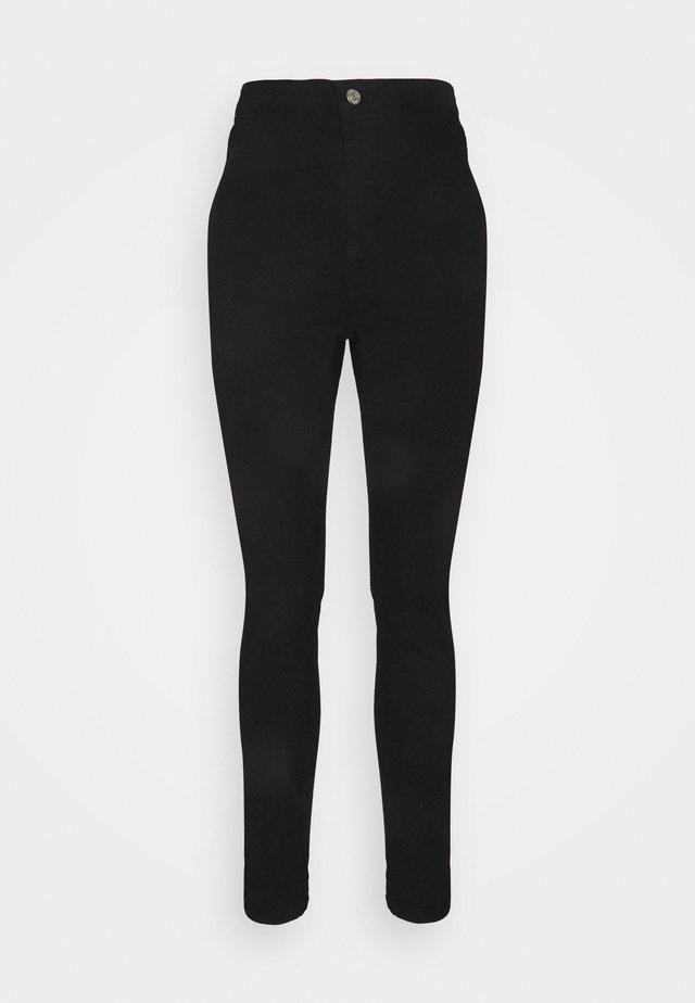 OUTLAW  - Skinny džíny - black