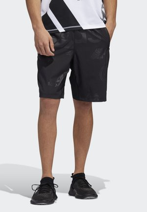 4KRFT DAILY PRESS 10-INCH SHORTS - Sports shorts - black