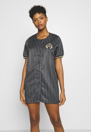 BASEBALL DRESS - Jersey dress - black