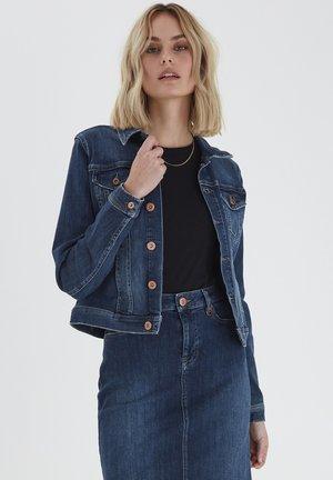 Giacca di jeans - dark blue denim