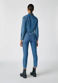 PULL&BEAR - Jeans Slim Fit - dark blue - 2