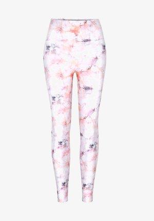TIE DYE - Legging - pink