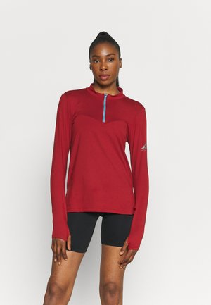 ELEMENT TRAIL MIDLAYER - Treningsskjorter - dark cayenne