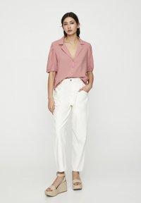 PULL&BEAR - Button-down blouse - rose - 1