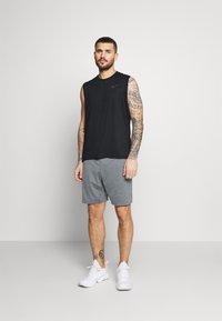 Nike Performance - DRY TANK - Linne - black/dark grey - 1