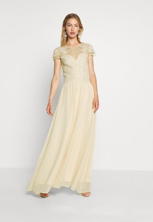 LADIES WOVEN DRESS - Abito da sera - nude