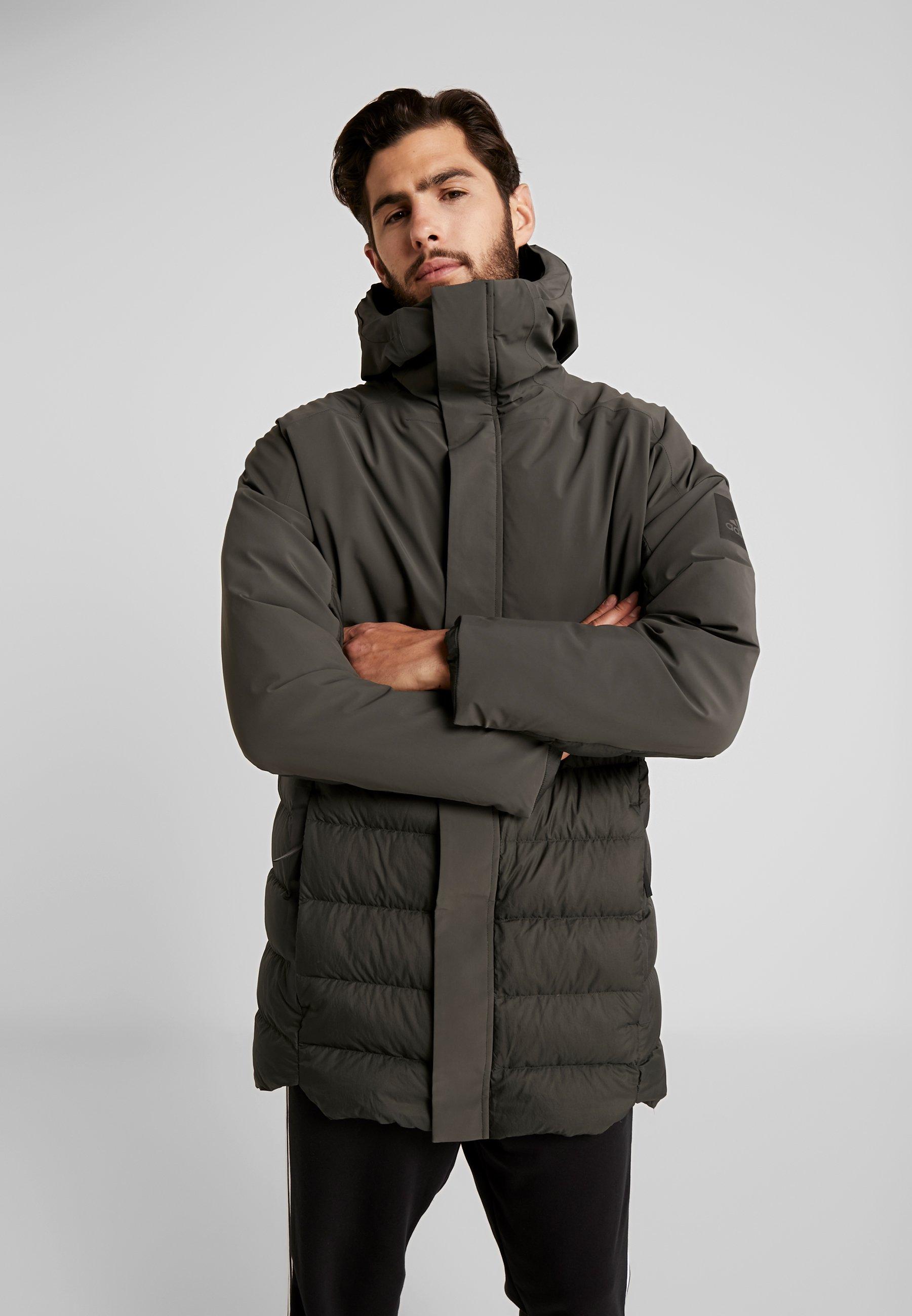 adidas TX Climaheat Agravic Down Jacket Herren olive cargo