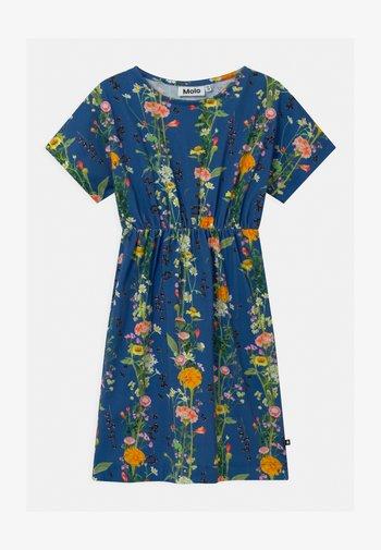 CHRISTA - Jersey dress - blue