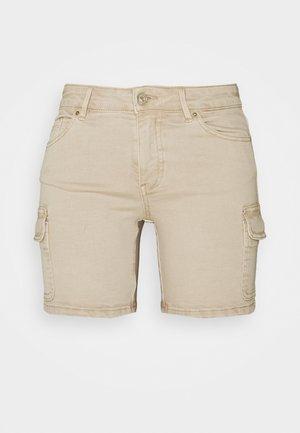 ONLMISSOURI LIFE - Shorts di jeans - humus