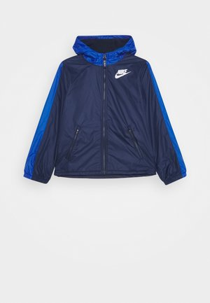 Overgangsjakker - midnight navy/game royal/white