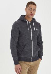 Blend - HELNO - Zip-up sweatshirt - black - 1