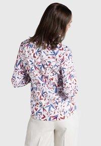 Eterna - MODERN CLASSIC - Button-down blouse - blue/saffron/white - 1