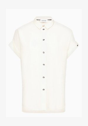 Button-down blouse - white smoke