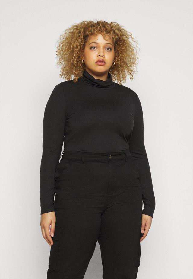 VMAVA LULU ROLLNECK  - Camiseta de manga larga - black