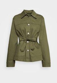 JACKET YVIS - Denim jacket - khakigreen