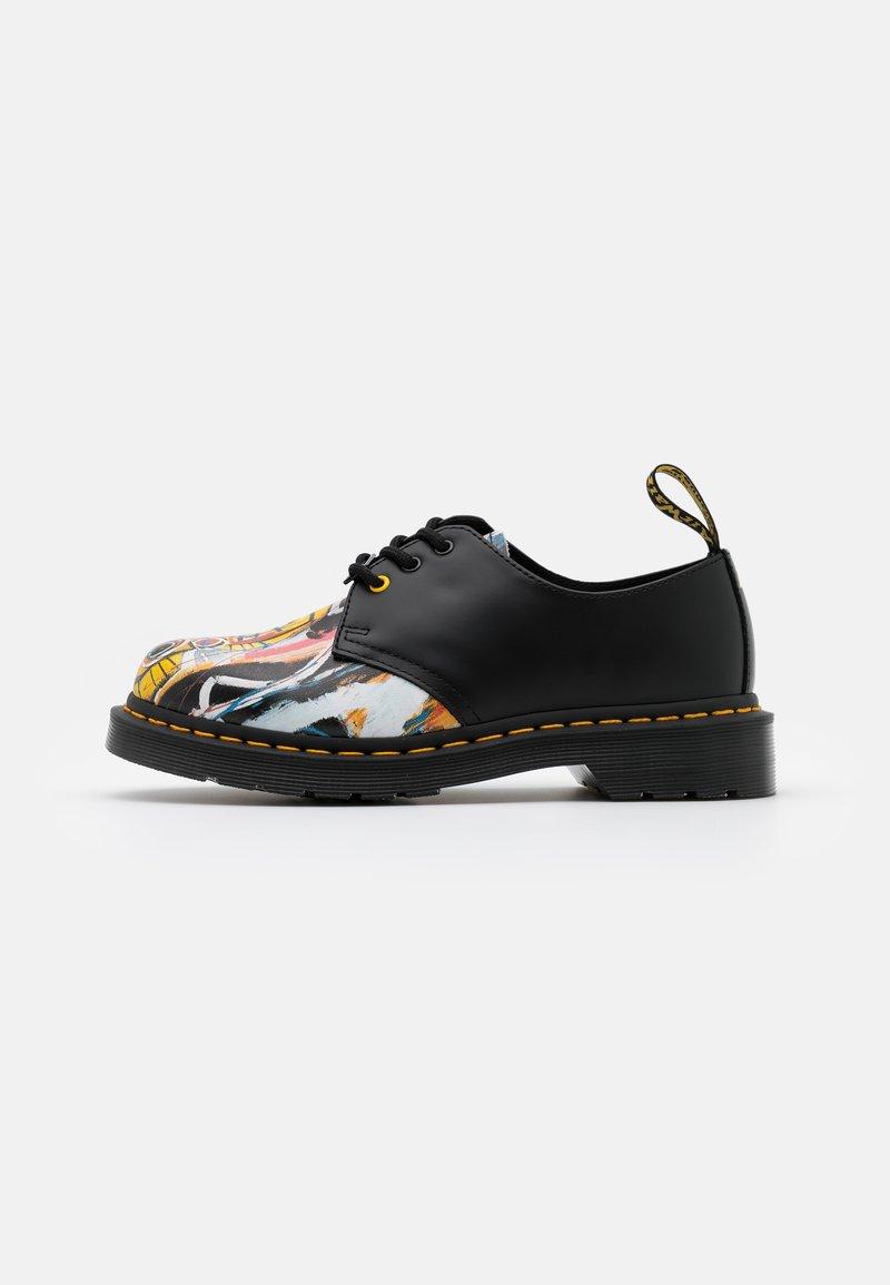 Dr. Martens - 1461 BASQUIAT - Šněrovací boty - white/black smooth