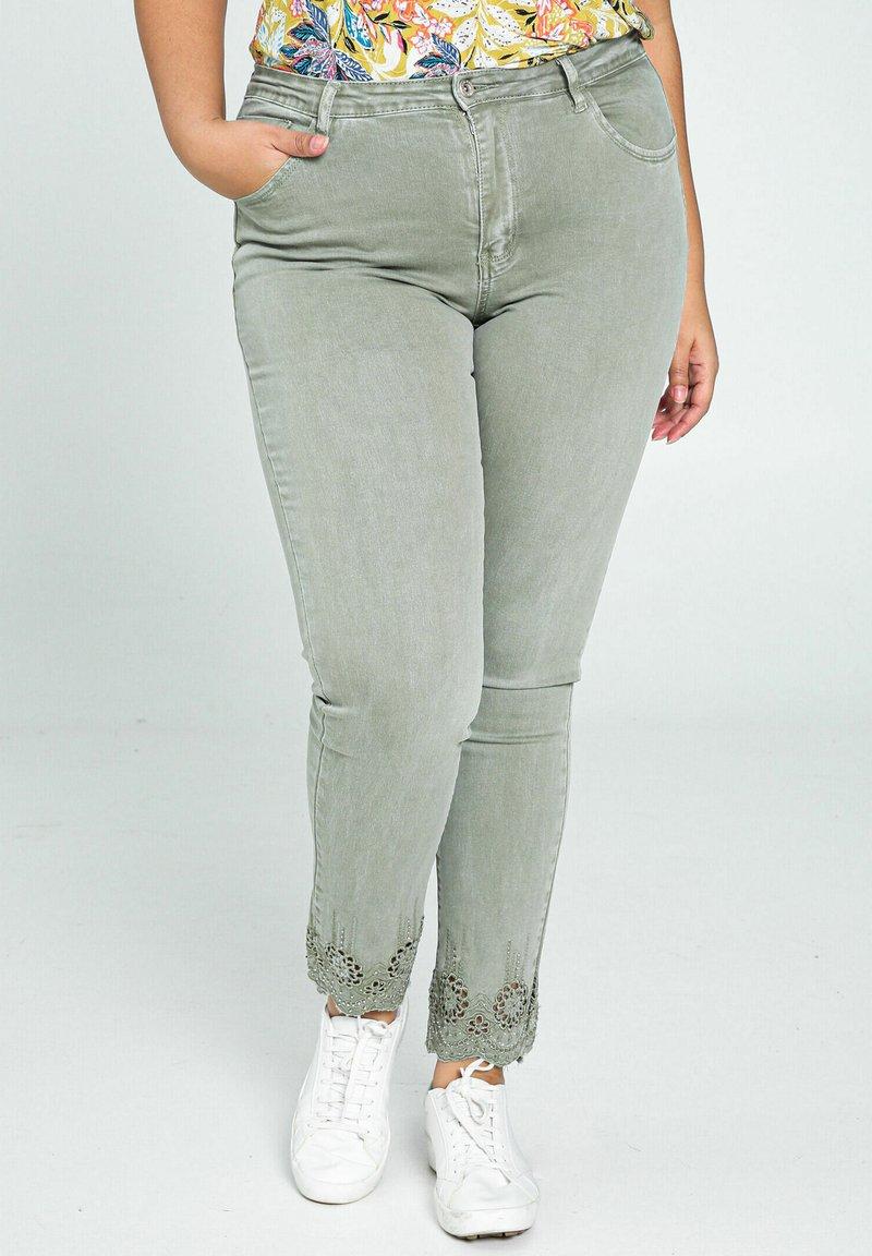 Paprika - Jeans Skinny Fit - khaki