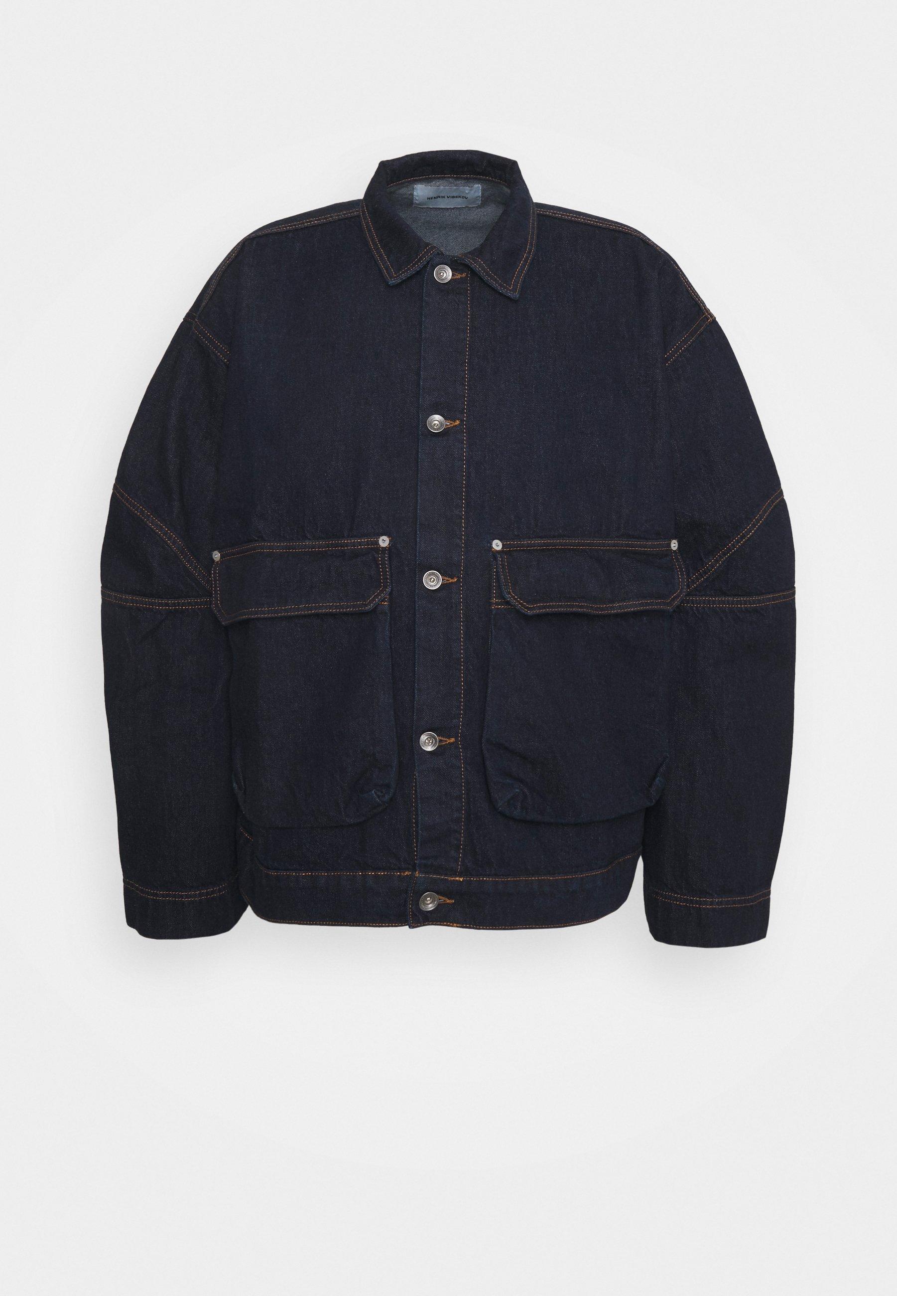 Men MATCH BOX JACKET - Denim jacket