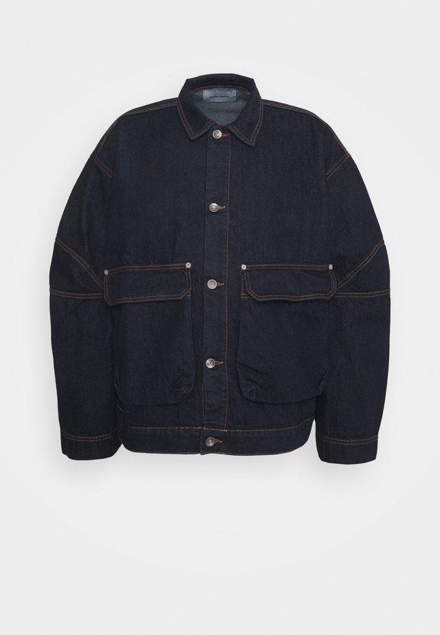 MATCH BOX JACKET - Veste en jean - indigo