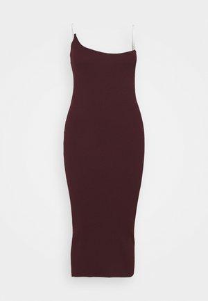 PERSPEX MIDAXI DRESS - Korte jurk - plum