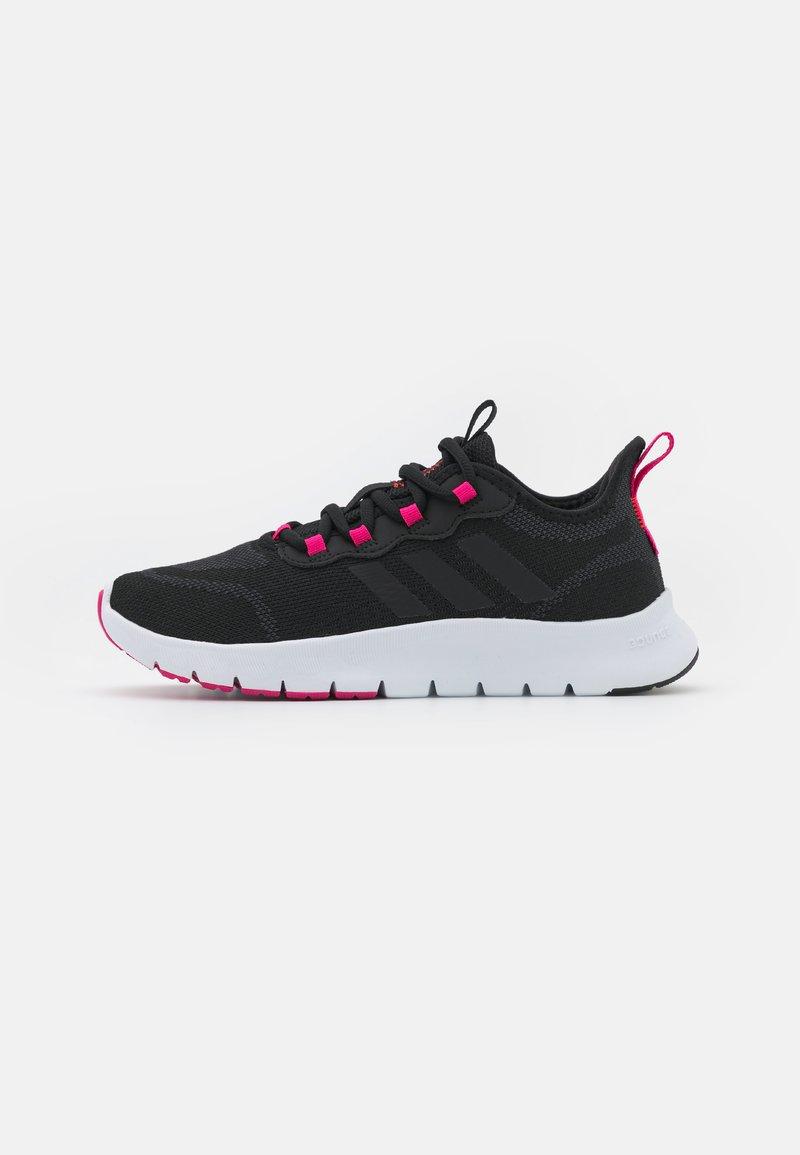 adidas Performance - NARIO MOVE - Sports shoes - core black/team real magenta