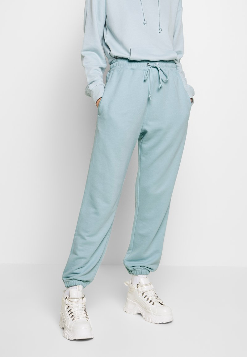 Missguided - OVERSIZED JOGGER - Tracksuit bottoms - blue