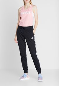 adidas Performance - BLOCK PANT - Verryttelyhousut - black - 2