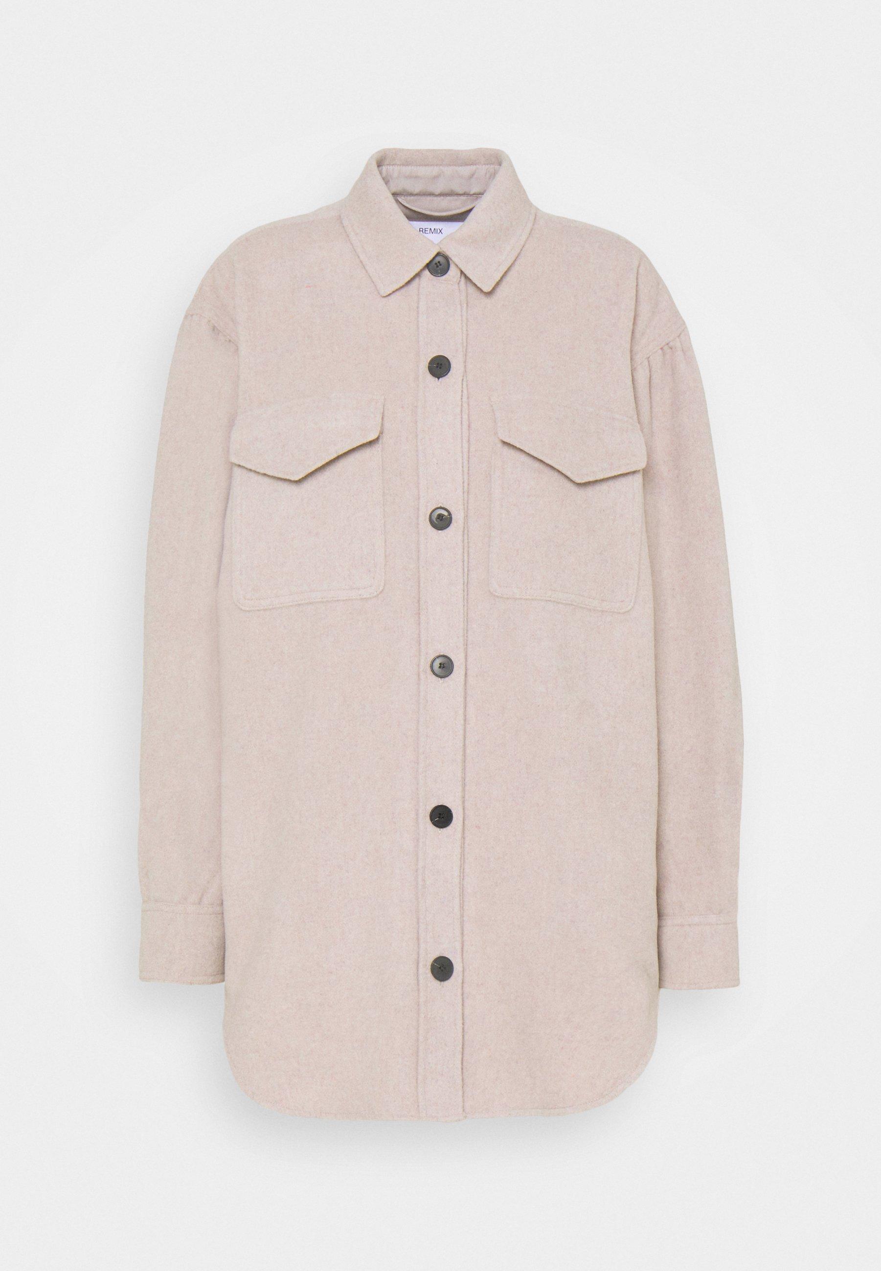Women CARPI SHIRT JACKET - Classic coat