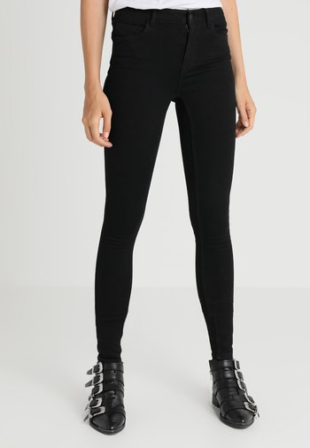 VMSEVEN SHAPE UP TALL - Jeans Skinny Fit - black