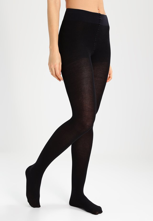 FALKE Family Strumpfhose Blickdicht glatt - Tights - black
