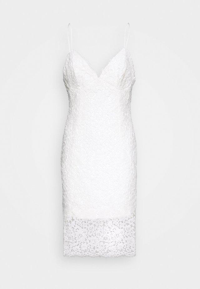 SIENNA DRESS - Vestido de cóctel - ivory