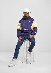Starter - Winter jacket - starter purple/wht/buff yellow - 5