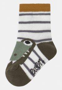Ewers - CRODODILE 4 PACK - Socks - blue/green - 1