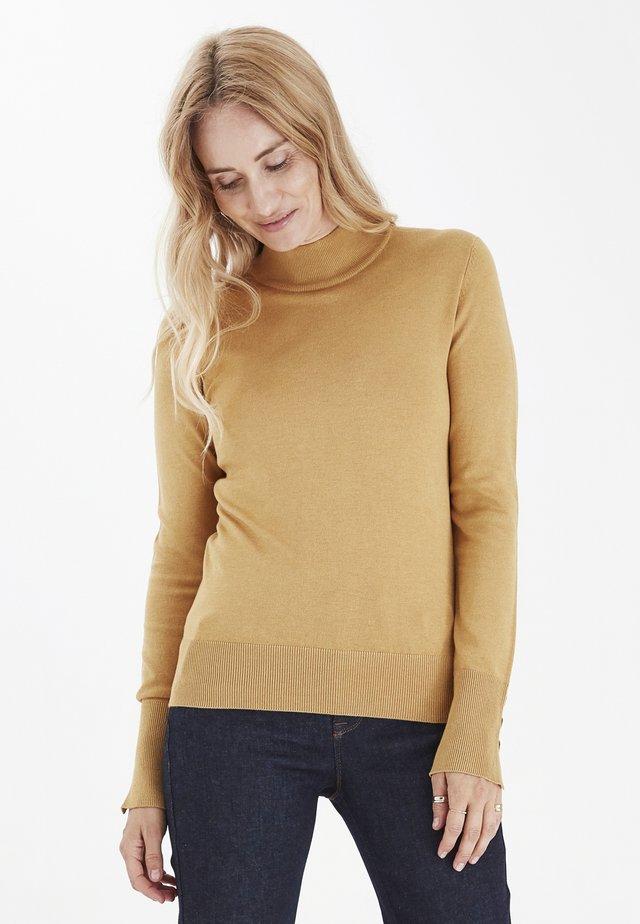 Pullover - honey mustard melange
