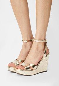 San Marina - MOANY - Platform sandals - or - 0