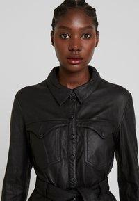 Ibana - ELIZABETH - Košilové šaty - black - 3
