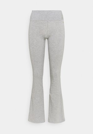 PANTA JAZZ - Tracksuit bottoms - grey melange