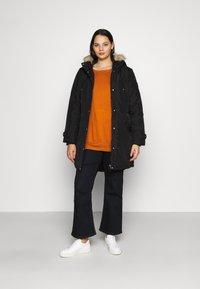 Vero Moda Curve - VMTROK - Winter coat - black - 1