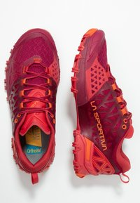 La Sportiva - BUSHIDO II WOMAN - Trail running shoes - beet/garnet - 1