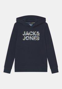 Jack & Jones Junior - JJFLEUR - Felpa con cappuccio - navy blazer - 0