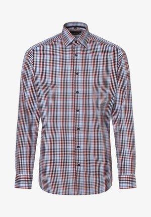 Shirt - rot hellblau
