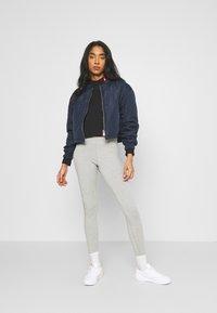 Nike Sportswear - TEE MOCK LOVE - Top sdlouhým rukávem - black - 1