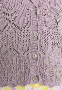 Monki - PEARL CARDIGAN - Cardigan - purple - 3