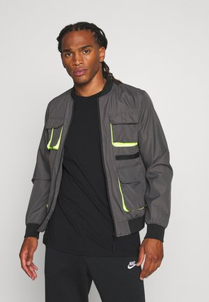 HAIDEN - Bomber Jacket - charcoal grey