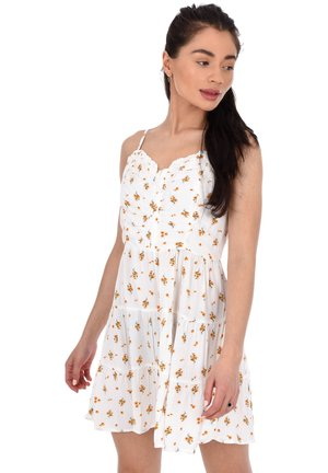AÉROPOSTALE VENICE TEE - Day dress - white