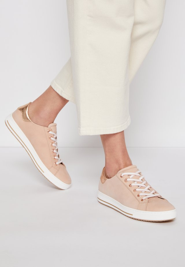 Trainers - rosa/rame